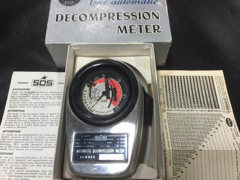 SOS Automatic Decompression Meter
