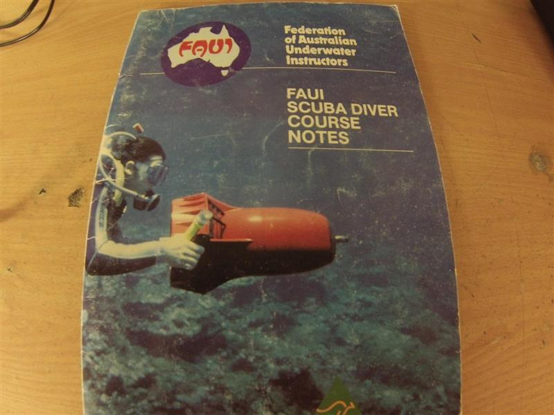 FAUI open water manual