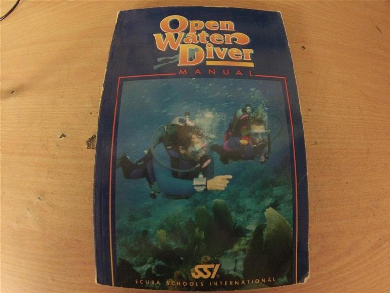SSI open water manual